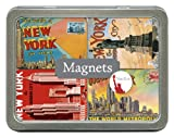 Cavallini Magnets New York, 24 Assorted Magnets