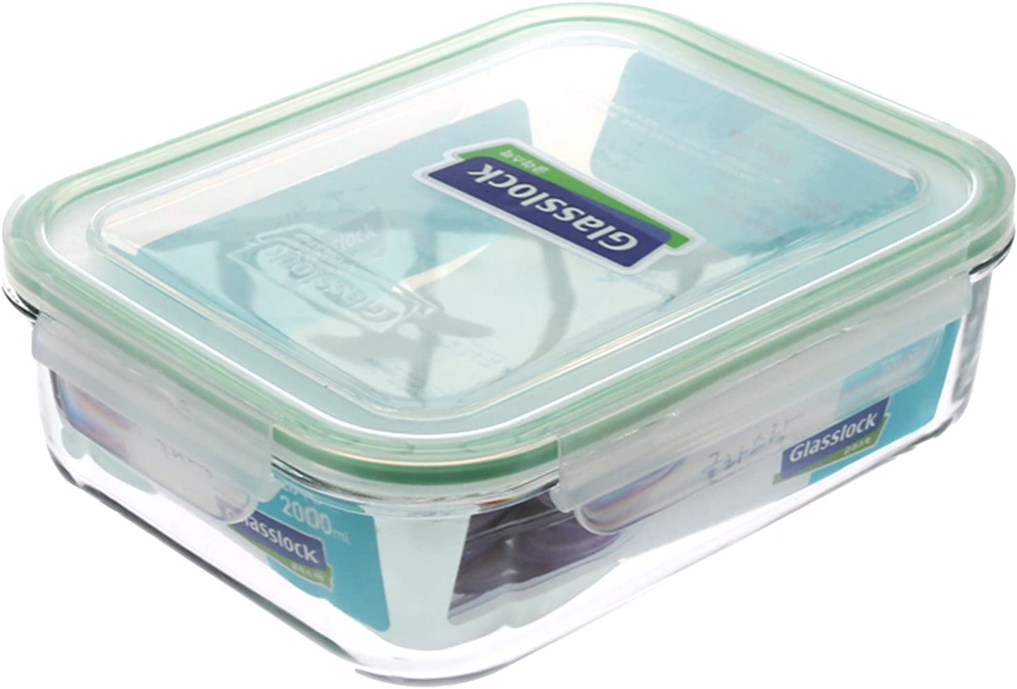 GlassLock Rectangle Storage Container 2 Litres
