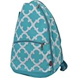 Geometric Themed Prints NGIL Tennis Racquet Holder Backpack