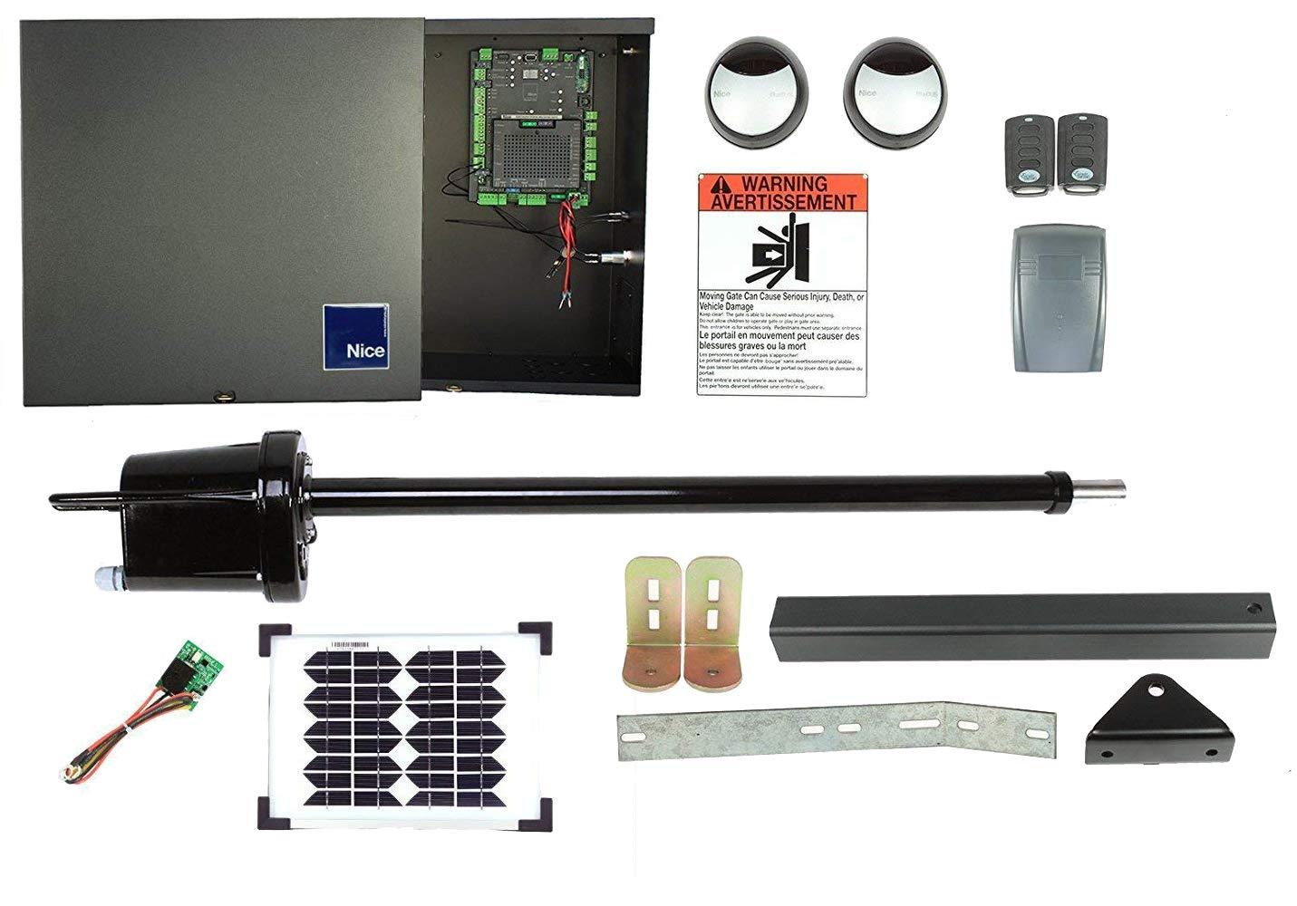 Solar, 20 Watt Apollo 1550 Single Gate Opener DIY Kit with Solar ...