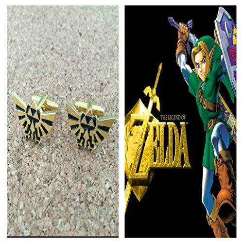 The Legend Of Zelda Triforce Heroes Costumes (Video Games The Legend of Zelda Triforce Logo Cufflinks By Athena)