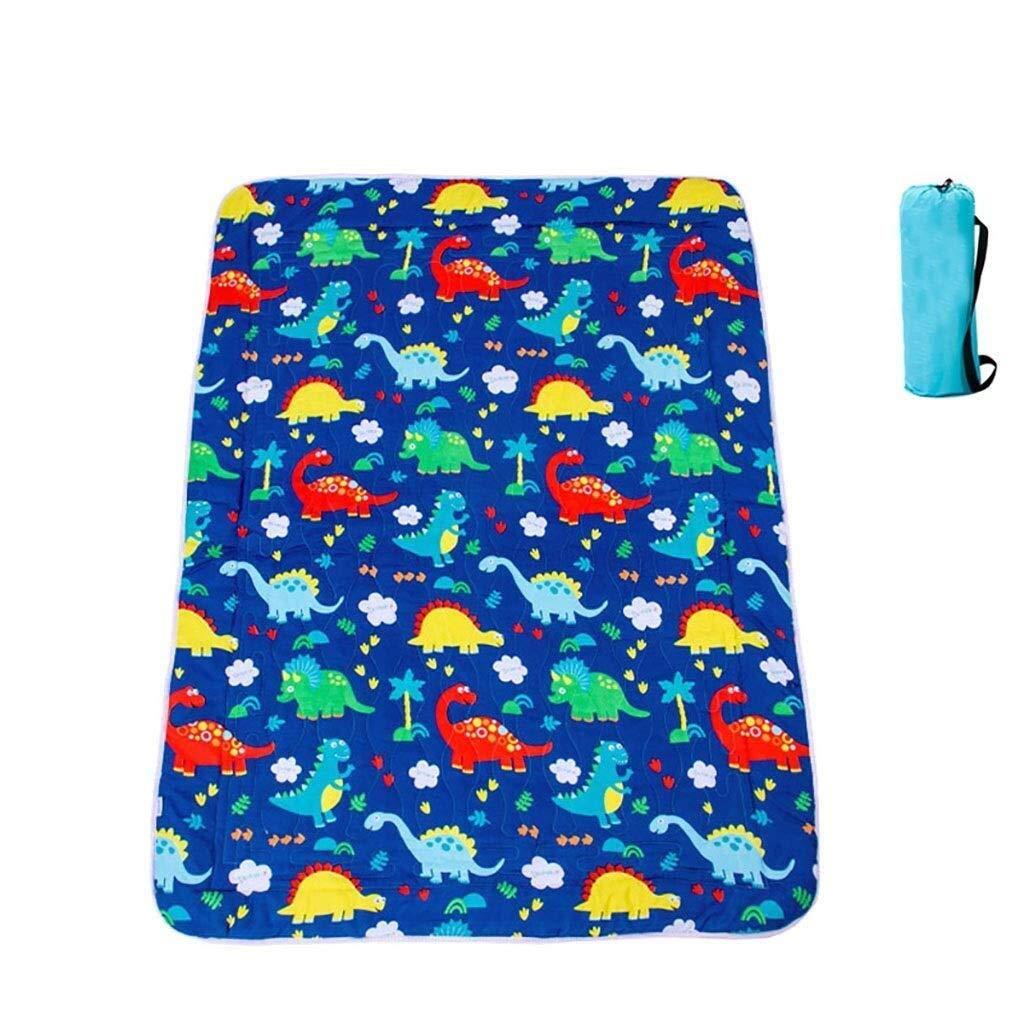 ZKKWLL Picnic Blanket Children's Picnic Blanket Cartoon Picnic mat can be Machine wash Cute Carpet mat Portable Picnic mat Waterproof Oxford Cloth Picnic mat (Color : C) by ZKKWLL