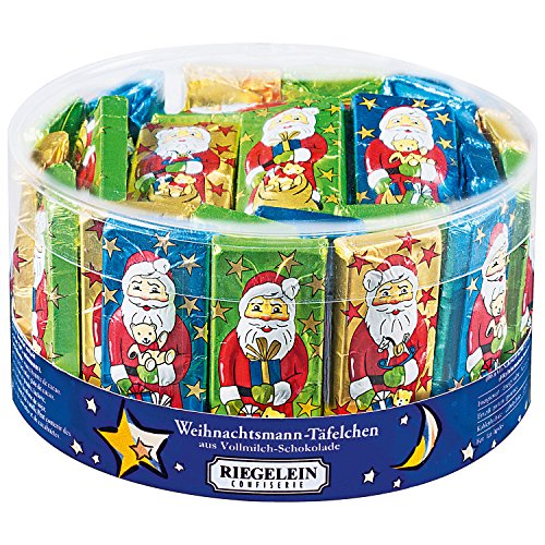 Riegelein Santa Claus tablets 33 pieces (412,5g) - Milk chocolate