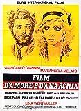 Love and Anarchy 1973 Italian Quattro Fogli Poster