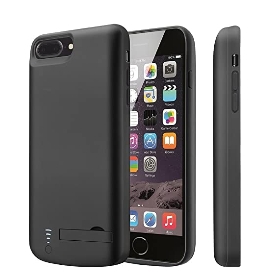 487bdf88664 V-EWIGE Funda para iPhone 8 Plus/7 Plus/6(S) Plus de batería 8000 ...