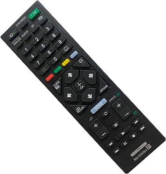 EAESE RM-ED054 Reemplazo Mando a Distancia para Sony LCD LED Smart TV Control Remoto Universal Sony bravia TV: Amazon.es: Electrónica