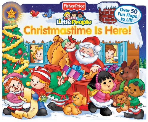 Christmas Is Here.Christmastime Is Here Little People Books Ellen Weiss