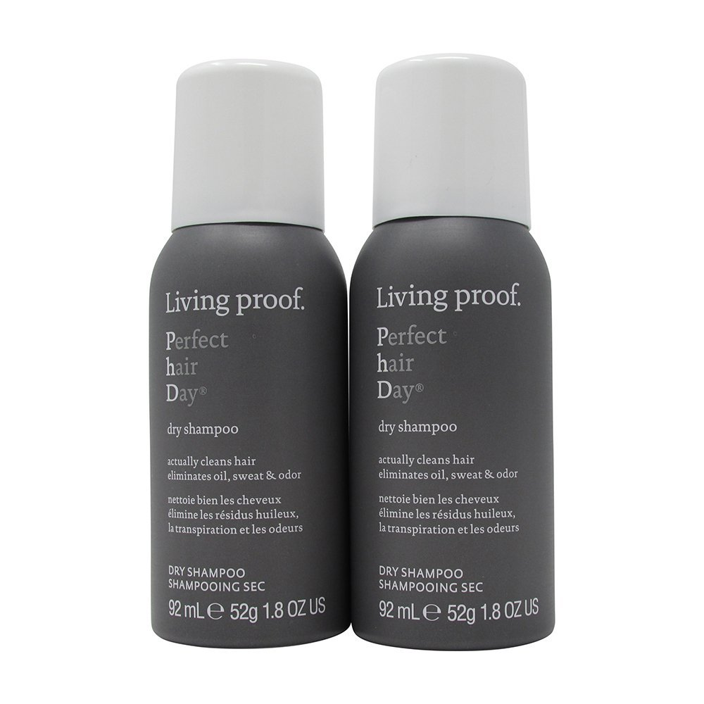 Bundle - 2 Items : Living Proof Perfect Hair Day Dry Shampoo, 1.8 Oz (Pack of 2)