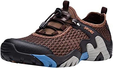Fashion Men Breathable Water Shoes Fast Dry Running Shoes Sports Hiking Sneakers