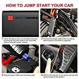 GOOLOO 800A Peak 18000mAh SuperSafe Car Jump