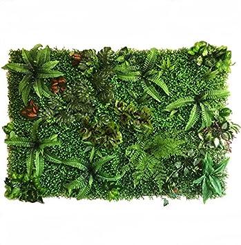 (SCGEHA) 超特大 フェイクグリーン ウォールグリーン 人工 観葉植物 壁掛け フェイク 壁 グリーン