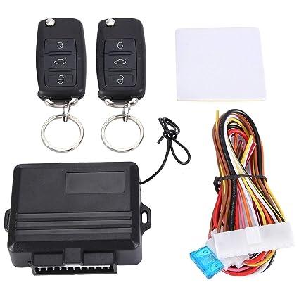 Universal Coche Auto central Cerradura de entrada sin llave de Bloqueo Kit de sistema de control remoto.