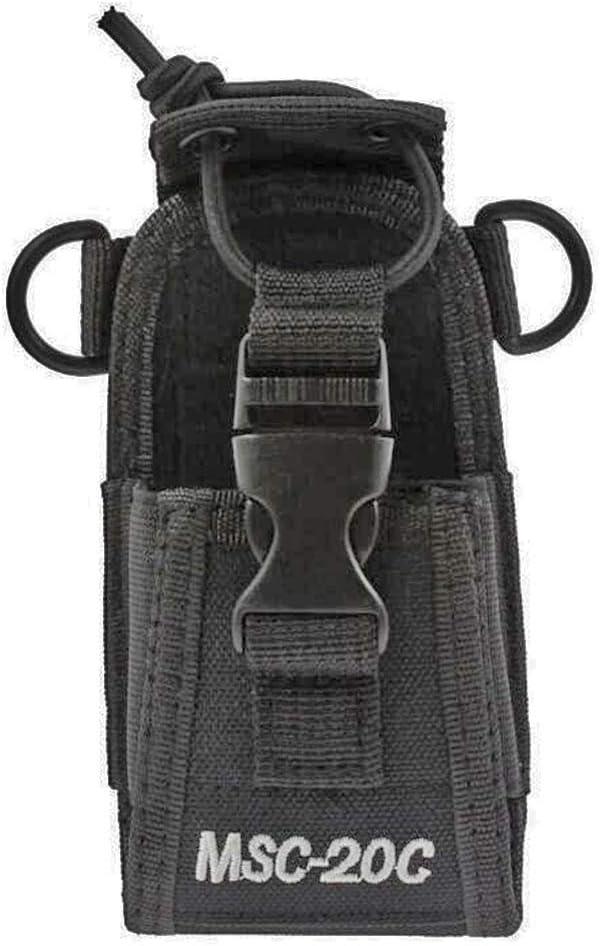 Universal 3in1 Multi-Function Radio Pouch Case Holder with Adjustable Shoulder Strap for Midland//Kenwood//Motorola//HYT//Yaesu//Icom Walkie Talkie 20A