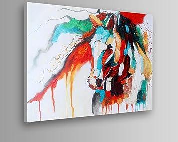 Handgemalten Olgemalde Tier Malerei Auf Leinwand Moderne Abstrakte