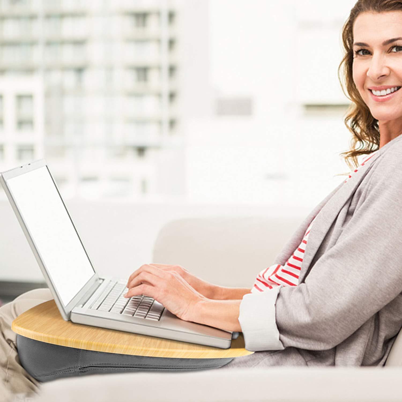 astuccio per la penna e sistema di gestione cavi Supporto monitor per computer e laptop 16.7 cm in altezza porta-stampante- pu/ò sosntenere fino a 30kg /È regolabile ed /è disposto di cassetti