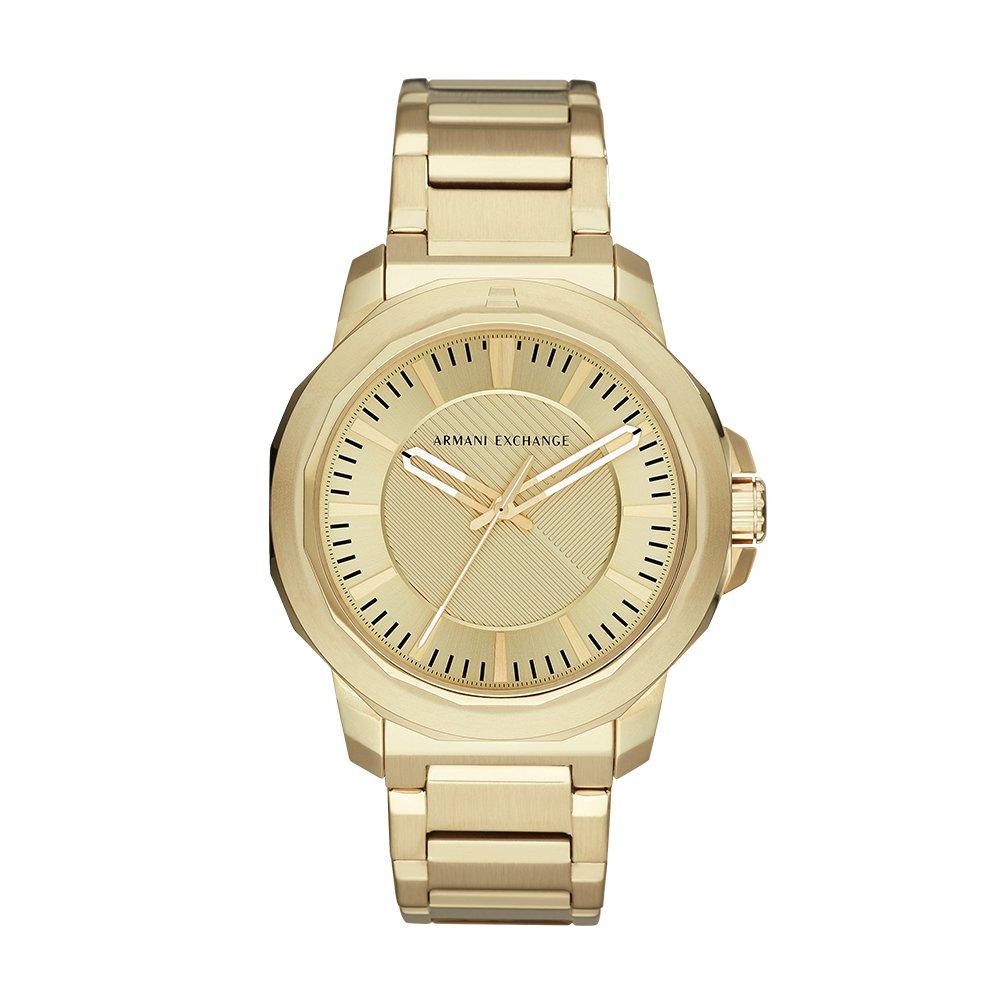 Armani Exchange Reloj Analogico para Hombre de Cuarzo con Correa en Acero Inoxidable AX1901