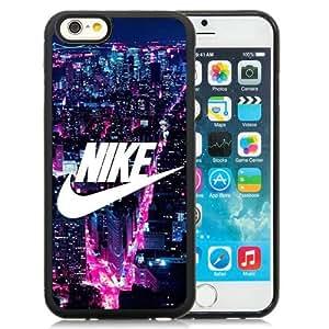 Nike Logo New York City Black Abstract Design Custom iPhone 6 4.7 Inch TPU Case