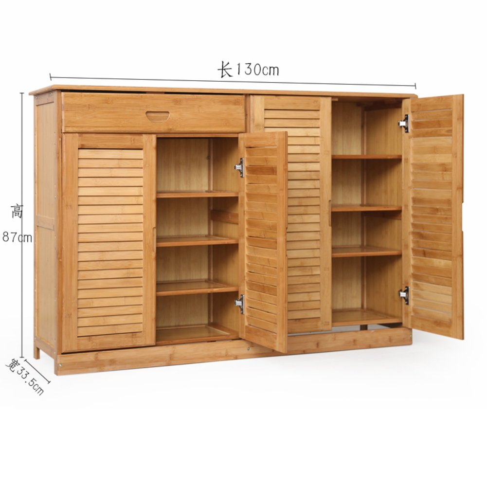 Wooden Shoe Box Storage.Mcuwehgfet Wooden Shoe Cabinet Bamboo Shoe Rack Solid Wood Simple Shoebox Storage Room Shoe Rack Multilayer Multifunction Porch Door Cabinet N