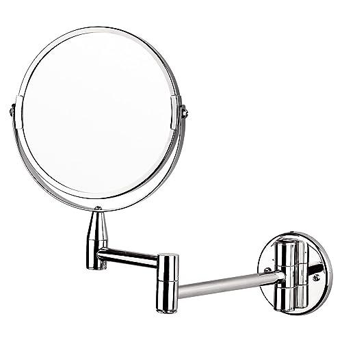 songmics 10x magnification shaving mirror makeup mirror