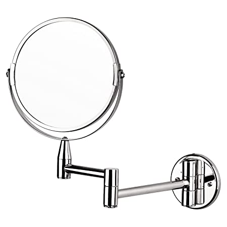 wall mounted makeup mirror. Taylor \u0026 Brown® Magnifying Wall Mounted Makeup Mirror Extending Shaving Cosmetic 7\u0026quot; Double O
