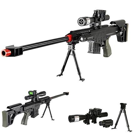 Amazon.com: Elite Airsoft 315FPS Rifle francotirador de 36 ...