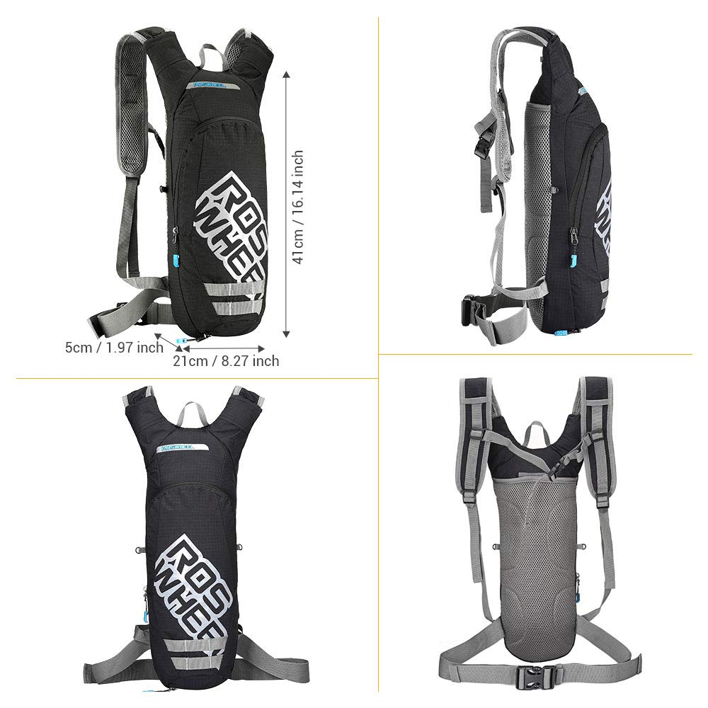 outlife Hydration Pack Outdoors Backpack 2 Litre Cycling Vest Hydration Pack for Cycling Running Climbing with Upgraded Water Bladder