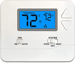 Thermostat Non-Programmable (1 Heat/1 Cool)