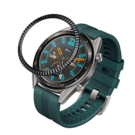 Amazon.com : Shan-S Bezel Styling for Huawei Watch GT 46MM ...