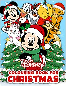 Disney Colouring Book For Christmas Happy Christmas Time Together With Family And Loved Ones For Those Who Love Disney Characters Emma Wilson 9798565779639 Amazon Com Books