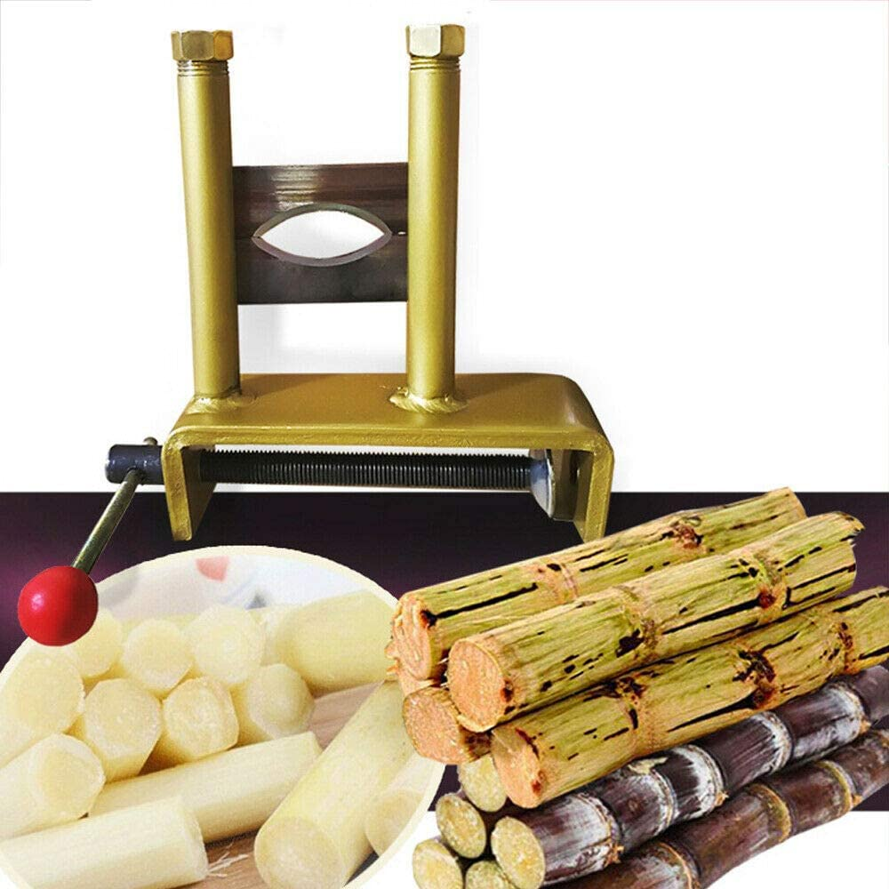 Manual Sugarcane Peeler Mini Sugar Cane High Speed Peeling Machine Sugarcane Peeling Tool Fast Clean 10630mm (USA Stock)