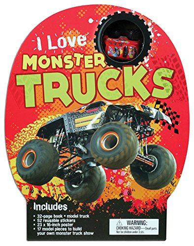 I Love Monster Trucks Ian Graham Amazon Com Books