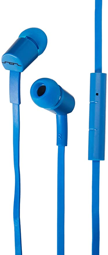 e3d07352912 Amazon.com: Sol Republic 1112-36 JAX In-Ear Headphones with 1-Button Mic  and Music Control - Electric Blue: Home Audio & Theater