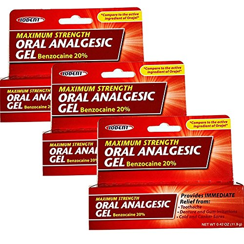 Exchange Unit - ORAL ANALGESIC GEL 0.42 OZ (Sold: 3 Units per Pack)