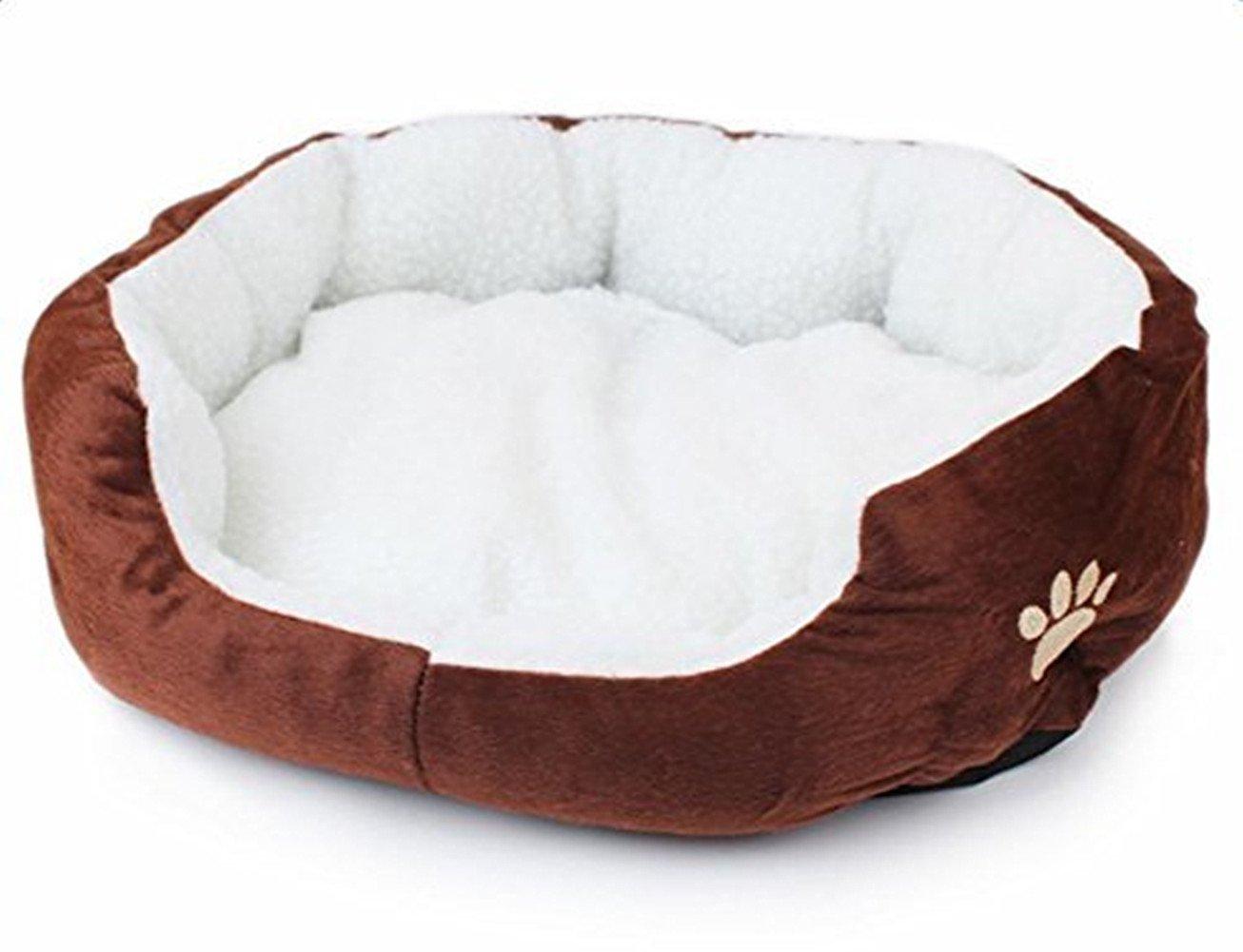 LAAT Tradizionale letto cane letto gatto cestino per cani cuscino per cane Cesta per gatto letto per cane e gatto
