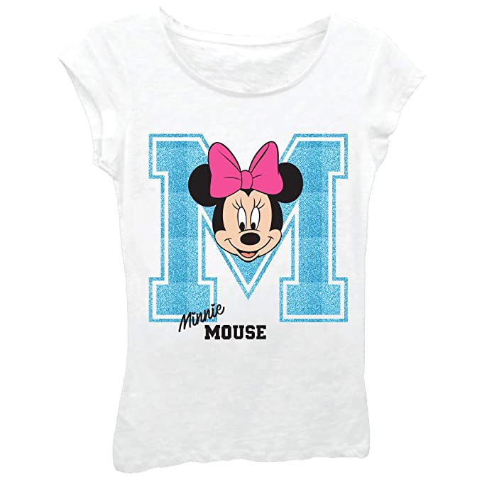 9ebbcadfba3c1 Image Unavailable. Image not available for. Color: Minnie Mouse Girls T- Shirt - Cute Disney Shirts for Girls Kids