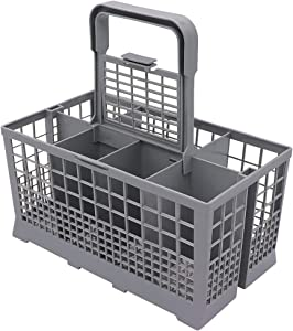 "Universal Dishwasher Cutlery Basket (9.6"" x 5""x 4.8"") By Primeswift Replacement for Kenmore Whirpool Maytag GE Samsung 43239243170"