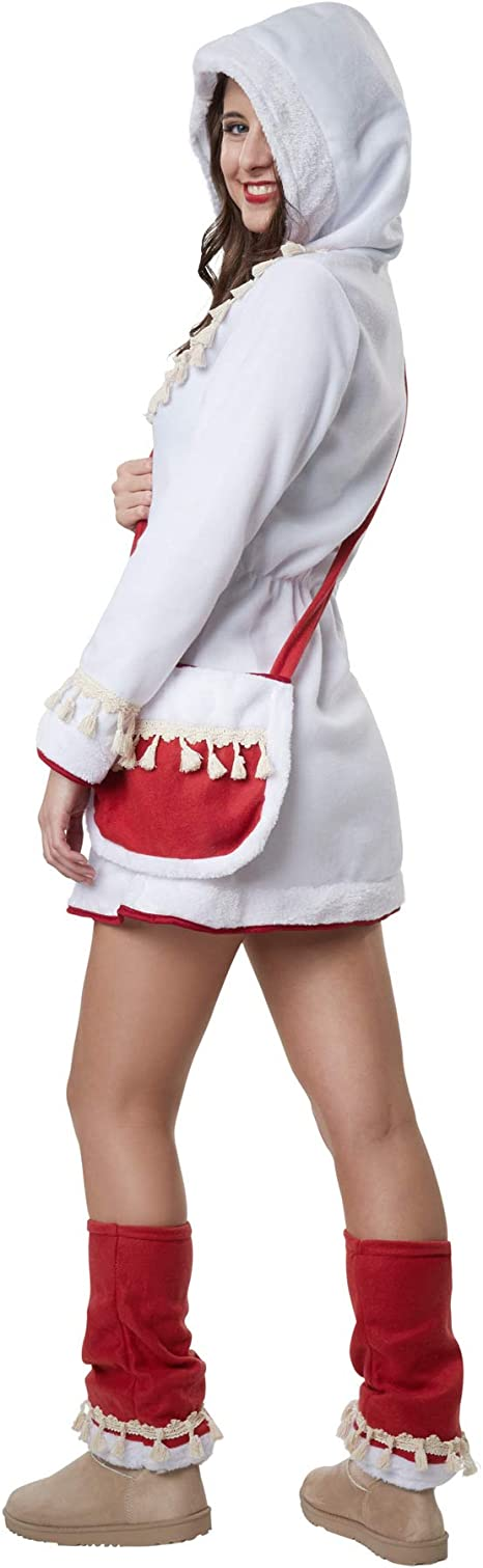 dressforfun 900521 - Disfraz de Mujer Elegante Esquimal, Incluye ...