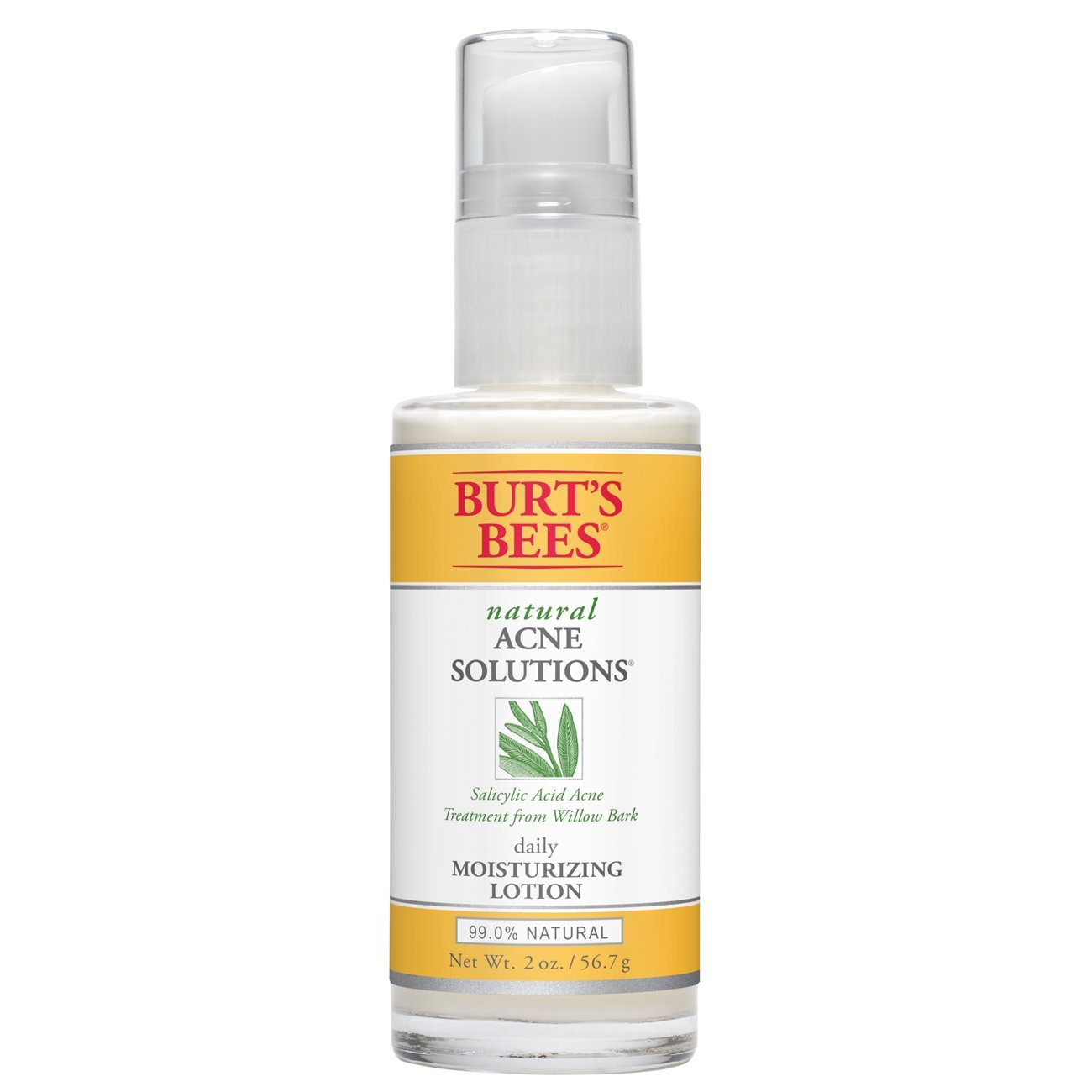 Burt's Bees Natural Acne Solutions Pore Refining Scrub, Exfoliating Face Wash for Oily Skin, 4 Ounces Burt' s Bees 00179-10