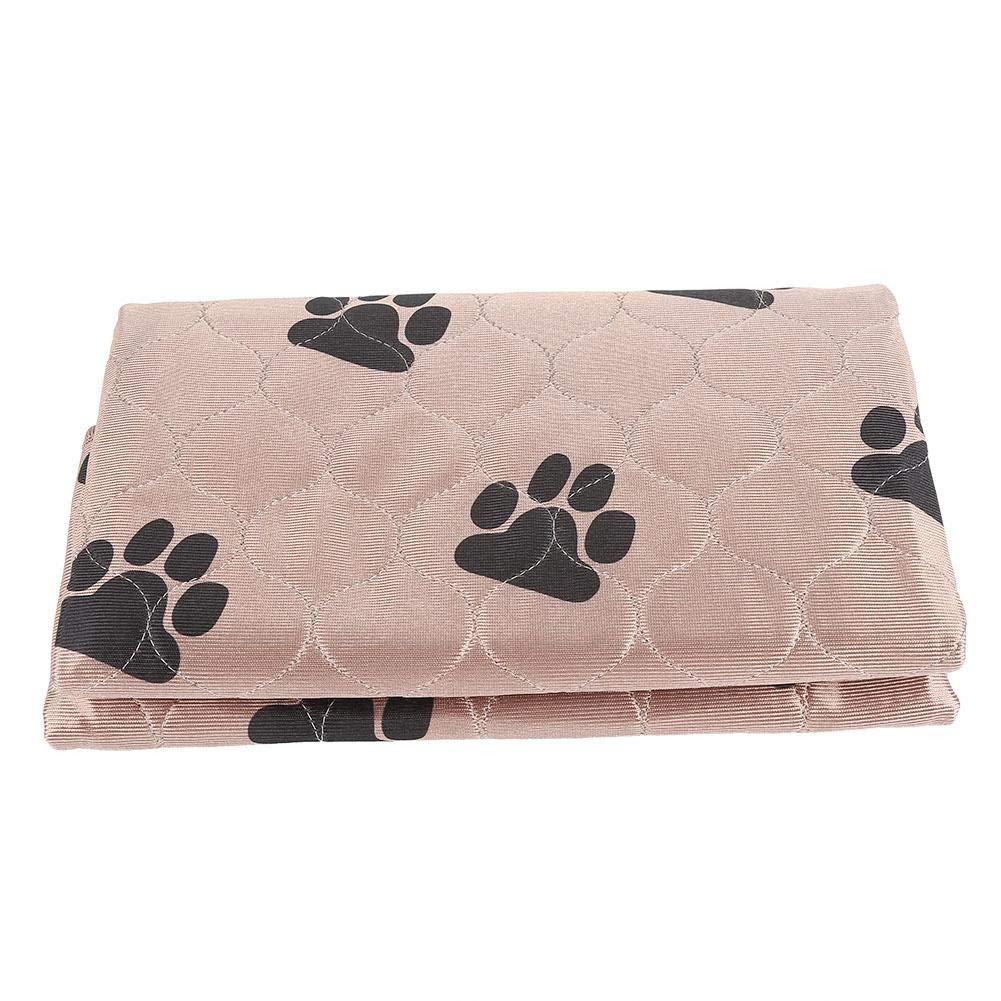 40 x 60 cm Fdit Tappetino Impermeabile Riutilizzabile per Cani e Gatti
