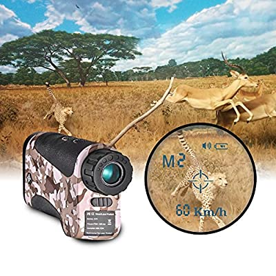 Gosky Laser Rangefinder Hunting Range Finder with Ranging/Speed Model for Hunting, Outdoor Using (LE600S, 656 Yard) from Suzhou Newbridge Electronic Science And Technology Co., Ltd.