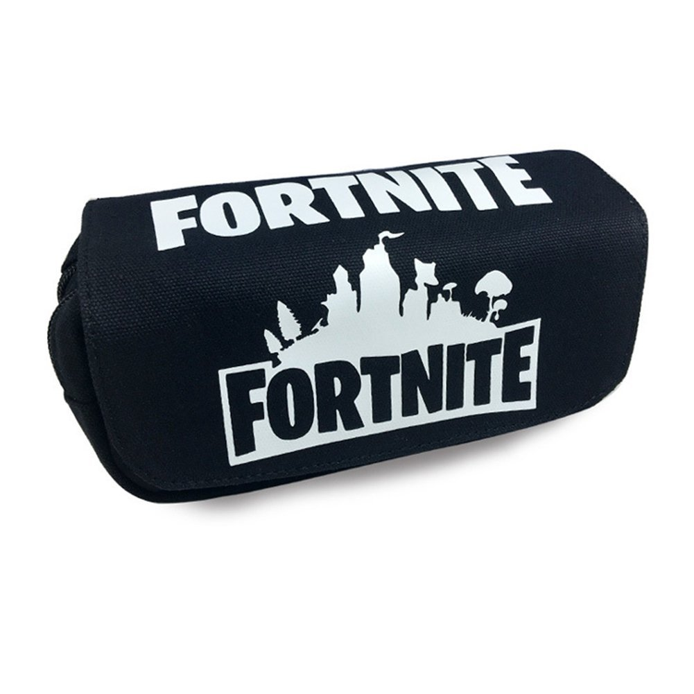 Aristory Fortnite Pencil Case, Double Zipper Pencil Holders, Durable Stationery Pouch Bag Cosmetic for School Home and Office Supplies(H04)