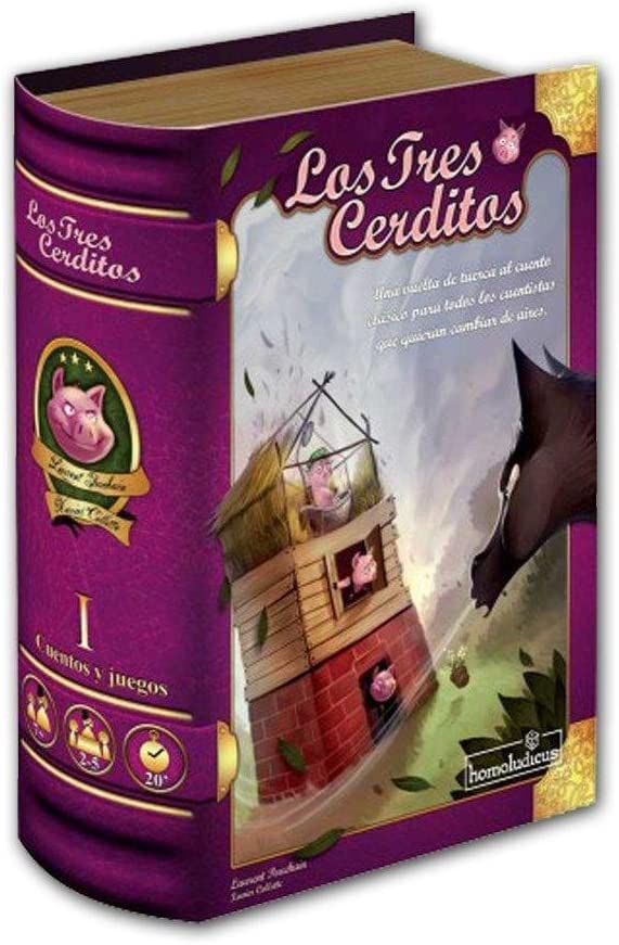 Devir-Los Tres cerditos (25609): Amazon.es: Juguetes y juegos
