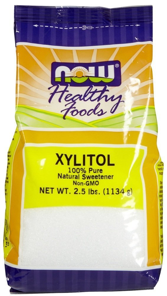 Now Foods Xylitol, 2.5 lb ( Multi-Pack) by NOW Foods