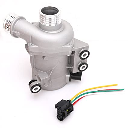 engine electric water pump with wiring harness for 2006-2013 bmw 1 3 5 x3
