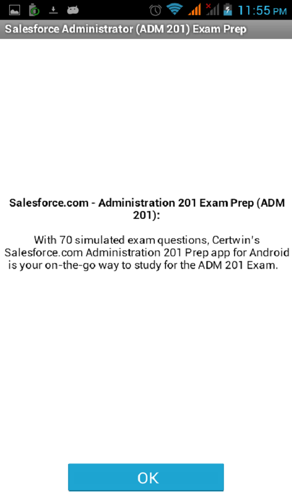 Amazon Salesforce Administrator Exam Prep Appstore For Android