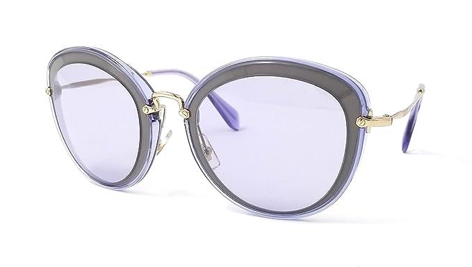 Miu Miu MU50RS, Gafas de Sol Unisex Adulto, Gris (Grey ...
