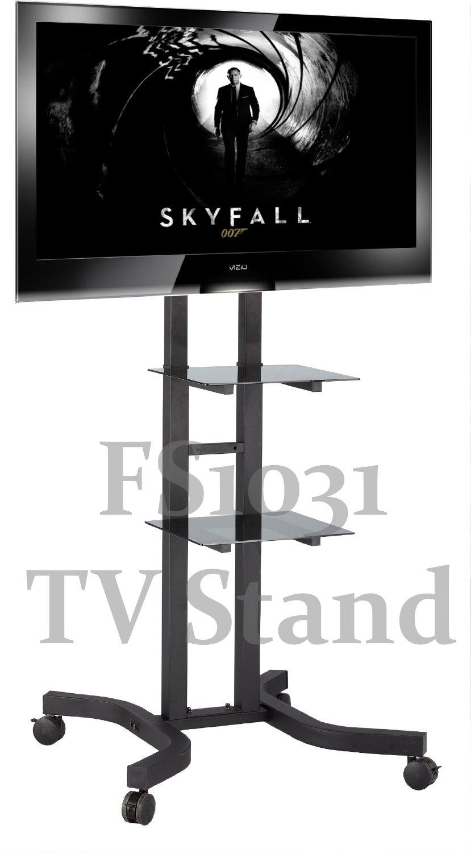 FS1031 TV Trolley-Bodenständer mit Halterung für LCD / Plasma TV ...