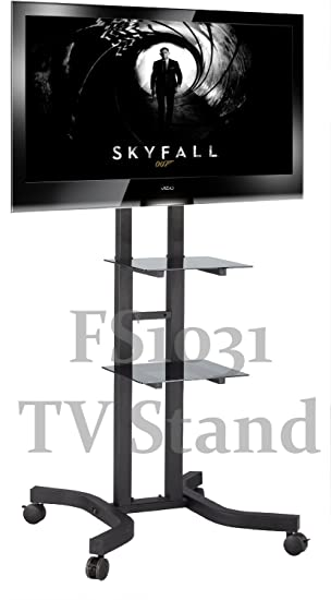 TS1031 1 5m Tall Exhibition Display Stand TV Trolley Amazon