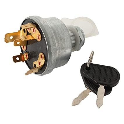 Complete Tractor Ignition Switch for Farmtrac 435; 545; 555 DTC; 535; on
