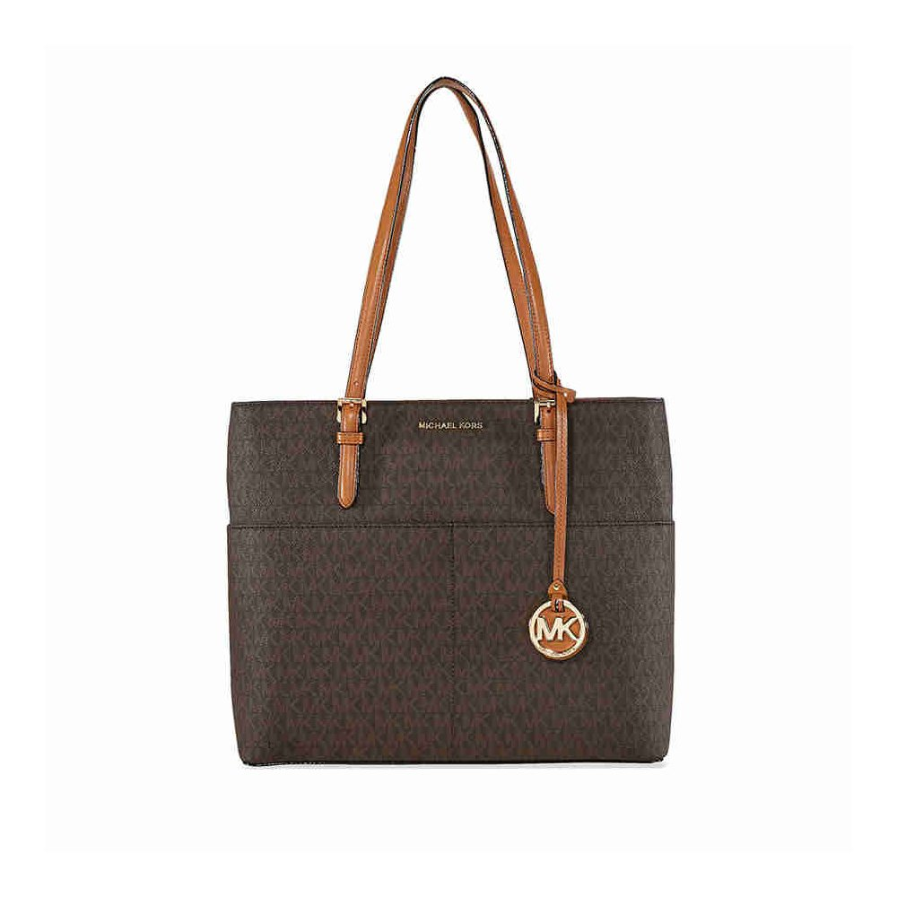 MICHAEL Michael Kors Bedford Large Pocket Tote - Brown